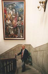 Ramon Espadaler, l'àlbum de fotos Joaquim Bosch, membre d'UDC i alcalde de Sant Quirze de Besora (Osona) per CiU, va iniciar en la política Ramon Espadaler, posant-lo a la llista municipal de 1991. Foto: Arxiu històric de La Marxa de Catalunya.