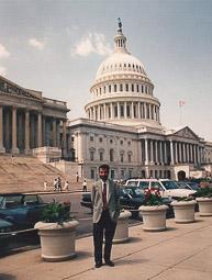 Ramon Espadaler, l'àlbum de fotos De viatge als Estats Units, el 1992
