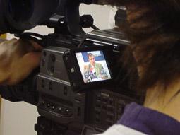 Ramon Espadaler, l'àlbum de fotos En una roda de premsa, com a diputat de CiU a l'oposició (20/09/2005). Foto: Osona.com.