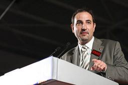 Ramon Espadaler, l'àlbum de fotos En un miting de les eleccions que donarien la presidència de la Generalitat a José Montilla (26/10/2006).