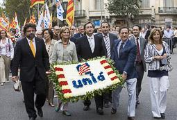 Ramon Espadaler, l'àlbum de fotos Ofrena floral d'UDC a Rafael de Casanova, a Barcelona (11/09/2008)