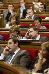 Ramon Espadaler, l'àlbum de fotos Al debat de Política General, des de l'oposició (28/09/2009).