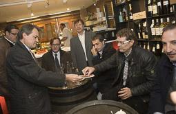 Ramon Espadaler, l'àlbum de fotos Acompanyant el candidat Artur Mas, a la campanya electoral al Parlament de Catalunya (26/10/2010).