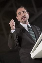 Ramon Espadaler, l'àlbum de fotos En un míting de la campanya al Parlament de Catalunya (22/11/2010).