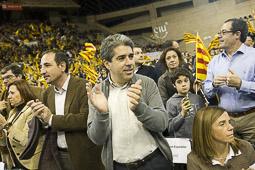 Ramon Espadaler, l'àlbum de fotos Al míting de final de campanya de les eleccions al Parlament, al Palau Sant Jordi (26/11/2010).