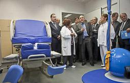 Ramon Espadaler, l'àlbum de fotos Amb el conseller Boi Ruíz, de visita a les instal·lacions d'obstetrícia de l'Hospital General de Vic (26/10/2012).