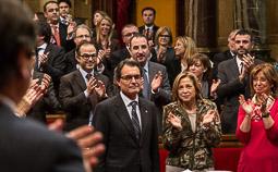 Ramon Espadaler, l'àlbum de fotos Al debat d'investidura d'Artur Mas com a president de la Generalitat, per segona vegada (22/10/2012). Foto: Jordi Borràs.