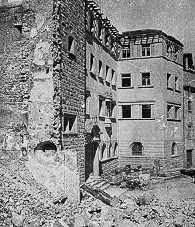 Revolució, guerra i franquisme a Vic Destrucció de l'església de Sant Antoni Maria Claret.