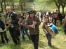 Sant Jordi 2009 a Folgueroles: Cercavila amb la Big Band Valona i Anna Maluquer
