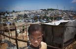 Fotos de Sergi Cámara des d'Haití, per a Osona.com Campament improvisat a Port-au-Prince.