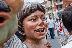 Trobada de gegants de les Festes d'Estiu a Balenyà