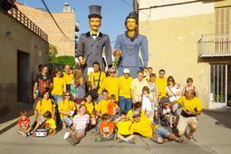Trobada de gegants de Prats de Lluçanès, 2014