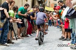 Festa Major de Vic 2014: II Gran Pujada de Ciclistes pel c/Sant Miquel