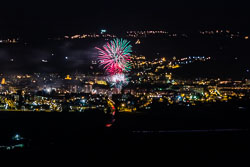 Festa Major de Vic 2015: castell de focs