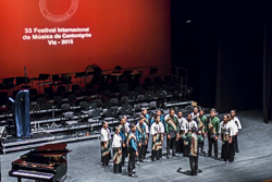 Inauguració del Festival de Música de Cantonigròs