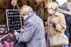 Mercat medieval de Vic 2014: ambient de diumenge