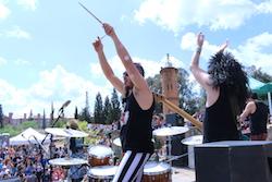 Festa de la Primavera 2015 a la masia de Can Deu de Sabadell Actuació de Heavy per a Xics.