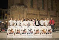 Municipals 2015: Inici de la campanya electoral a Sabadell L'equip de la candidatura de Guanyem Sabadell.