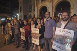 Municipals 2015: Inici de la campanya electoral a Sabadell Els principals membres de la Crida.