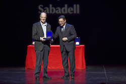 Medalles d'Honor de la ciutat de Sabadell 2015 L'Associació Esquitx ha estat una de les entitats reconegudes.