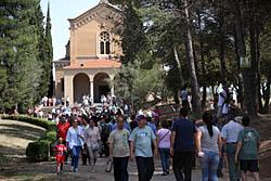 Aplec de la Salut de Sabadell 2015 Anair i venir al santuari.