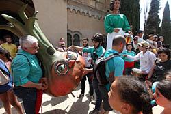 Aplec de la Salut de Sabadell 2015 Gegants i capgrossos.