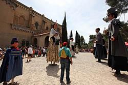 Aplec de la Salut de Sabadell 2015 Ballada de gegants.