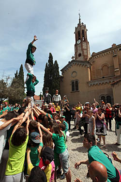 Aplec de la Salut de Sabadell 2015 Els Saballuts, ben amunt.