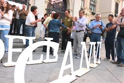 Les imatges més curioses de la campanya electoral a Sabadell 2015  Presentació. Foto: Norma Vidal