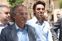 Les imatges més curioses de la campanya electoral a Sabadell 2015  Adhesions. Foto: Albert Segura.