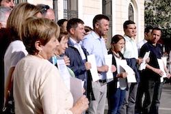 Les imatges més curioses de la campanya electoral a Sabadell 2015  Nets. Foto: Albert Segura.