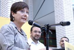 Les imatges més curioses de la campanya electoral a Sabadell 2015  Incorporació. Foto: Albert Segura.