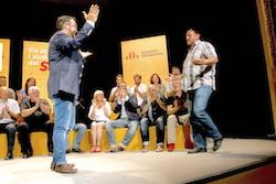 Les imatges més curioses de la campanya electoral a Sabadell 2015  Benvinguda. Foto: Albert Segura.