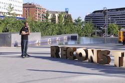 Les imatges més curioses de la campanya electoral a Sabadell 2015  Assajant. Foto: Albert Segura.