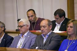 Ple de constitució de l'Ajuntament de Sabadell Joan Berlanga en el seu torn de paraula.