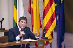 Ple de constitució de l'Ajuntament de Sabadell Joep Ayuso en el seu torn de paraula.