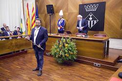 Ple de constitució de l'Ajuntament de Sabadell Reconeixement.