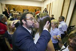 Ple de constitució de l'Ajuntament de Sabadell Felicitació íntima.