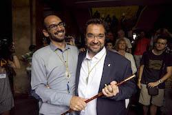 Ple de constitució de l'Ajuntament de Sabadell Foto de socis.