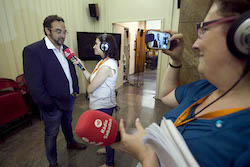 Ple de constitució de l'Ajuntament de Sabadell En directe.
