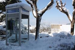 Una nevada històrica La neu va deixar unes vistes de la comarca ben insòlites. Norma Vidal.