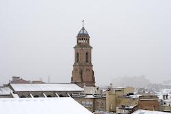 Una nevada històrica