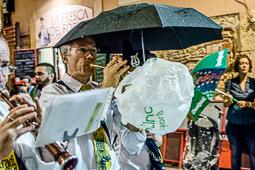 Santa Tecla 2016: Professó del Braç de Santa Tecla i Correfoc