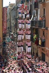 Diada castellera de Sant Magí