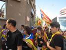 Celonins a la manifestació de l'11S 2012 a Barcelona