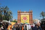 Fira per la Terra 2011 El sol ha acompanyat firaires i públic.