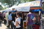 Fira per la Terra 2011 Els tibetans, sempre presents.