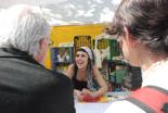 Fira per la Terra 2011 Gent de la Cooperativa Integral Catalana.