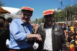 Fira per la Terra 2011 Santiago Vilanova (EV-AV) i Santiago Espot (CE).