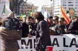 La pagesia es manifesta a Barcelona per exigir suport en la crisi agrària